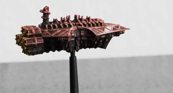 Lazarettschiff von hinten ;)