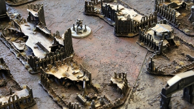 Epic Armageddon Scenery - ruined city