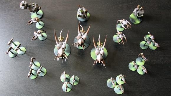Battlefleet Gothic - Tyranid fleet commission
