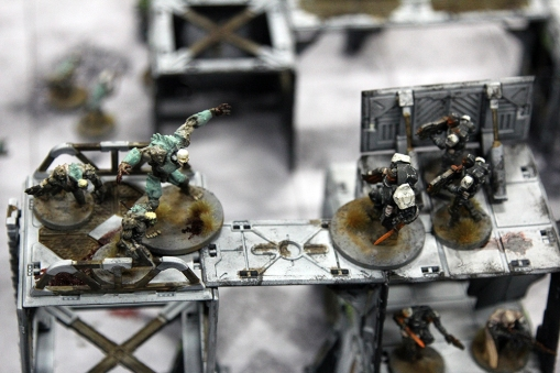 Deadzone Plague vs. Enforcers