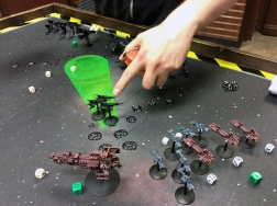 Battlefleet Gothic battle report