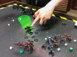 Battlefleet Gothic battle report
