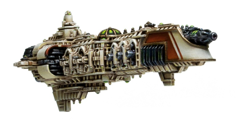 Cruiser with beam weapon from battlegrouphelios.com