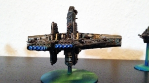 Technokratie Adeptus Mechanikus Battleship front