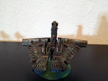 Technokratie Adeptus Mechanikus Battleship frontabove