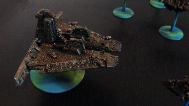 Technokratie Adeptus Mechanikus Battleship starboard