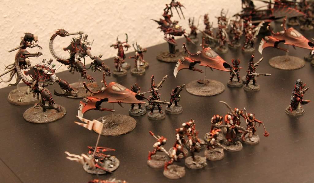 Epic armageddon dark eldar army display gemana epic miniature madness publicscrutiny Images