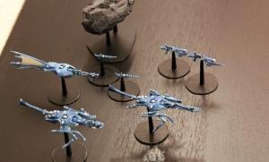 Battlefleet Gothic Craftworld Eldar proxies