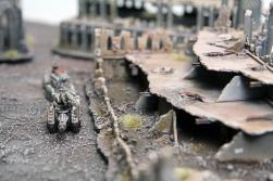 Chaos Squat Land Train scratchbuilt
