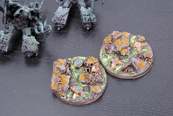 Nurgle Titan Legion Bases
