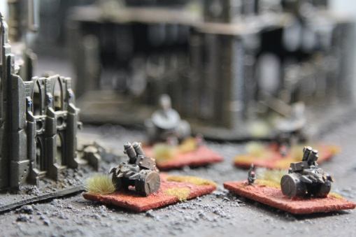 Chaos Squat Thunderfire Cannons