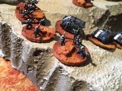 Epic Armegeddon Horus Heresy Iron Hands Scouts3797