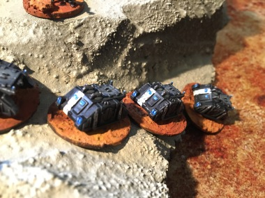 Epic Armegeddon Horus Heresy Iron Hands Scouts3798