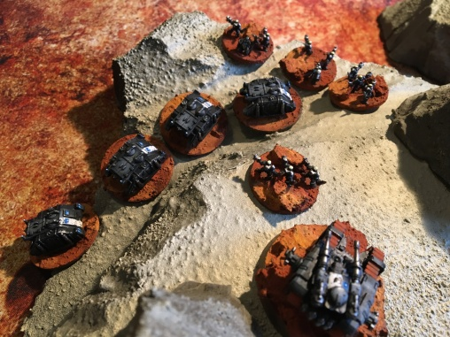 Epic Armegeddon Horus Heresy Iron Hands Scouts3800