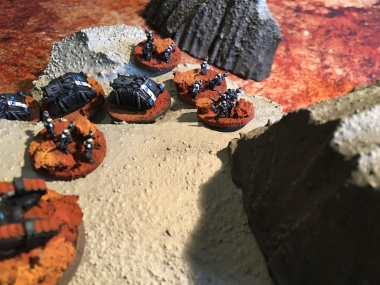 Epic Armegeddon Horus Heresy Iron Hands Scouts3801