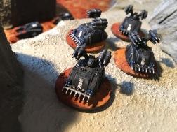 Epic Armegeddon Horus Heresy Iron Hands Whirlwinds3793