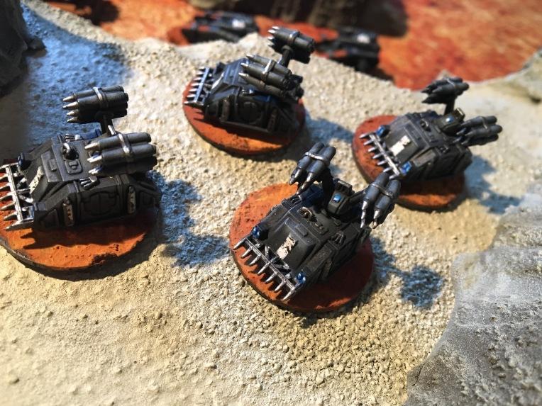 Epic Armegeddon Horus Heresy Iron Hands Whirlwinds3794